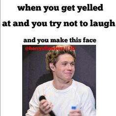 What are u talking about... its impossible to make that cute of a face, except Niall