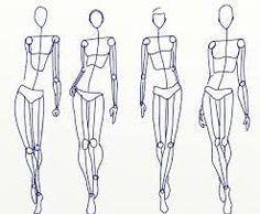 תוצאת תמונה עבור fashion illustration figures