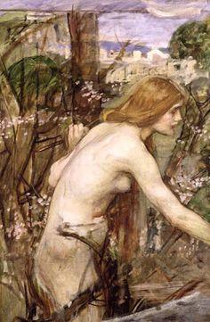 The Flower Picker by Waterhouse