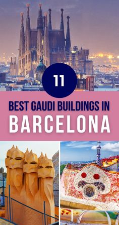 Barcelona owes much of its architectural charm to one man – Antoni Gaudí. Even if you've heard nothing about the architect and his peculiar style, you'll recognize a Gaudi building when you see one. They're unmistakable. In this article, you'll find the 11 best Gaudi buildings in Barcelona. | list of Gaudi Buildings in Barcelona Spain European Travel Tips, European Vacation, Barcelona Travel, Barcelona Spain, Spain And Portugal, Portugal Travel, Road Trip Europe, Travel Europe, Malta