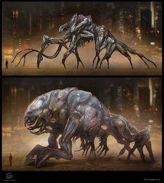 Creature work 2011, Sebastian Meyer on ArtStation at https://www.artstation.com/artwork/creature-work-2011