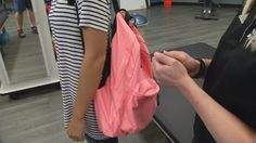 Proper backpack safety can help students avoid injury (WDRB-TV)
