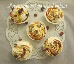 cupcakes au miel et aux noisettes