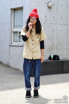 I know this is for Men,  but I kinda like it- | Japanese fashion and Tokyo street style - Tokyofaces.com - Part 7