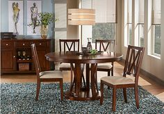 Shop for a Sullivan Way 5 Pc Dining Set at Rooms To Go. Find Dining Room Sets that will look great in your home and complement the rest of your furniture.
