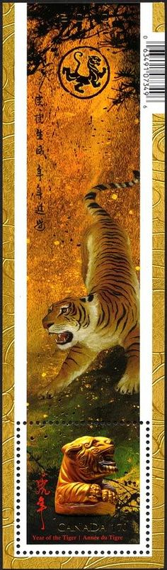 Canada,  Year of the tiger issue
