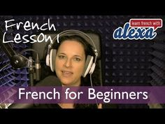 Learn French with Alexa Polidoro Free french Lesson 1 - YouTube