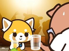 Hello Kitty's new Sanrio buddy loves heavy metal and beer!