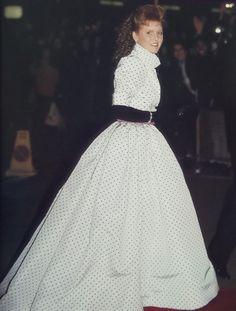 Sarah, Duchess of York from the 80s