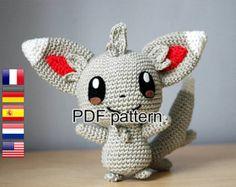 Crochet patrones Marill Pokemon por Sabrinasamigurumi en Etsy
