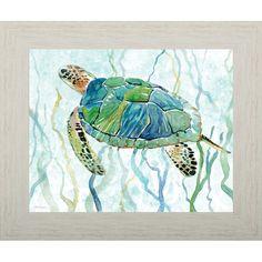 Sea Turtle Painting, Sea Turtle Art, Sea Turtles, Texture Painting, Painting Prints, Art Prints, Wood Paintings, Painting Art, Framed Prints