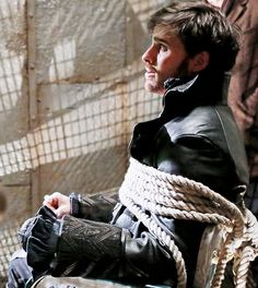 Once Upon a Time - Captain Hook aka Killian Jones played by Colin O'Donoghue. #OnceUponATime #OUAT #TV_Show