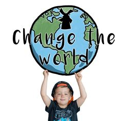 Our children are not only our future, they are our now. #changetheworld #earthday #earth