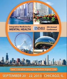This three-day international conference will explore the field of Integrative Medicine in the treatment of mental health, autism, and related disorders. Research studies have revealed that many disorders such as depression, bipolar disorder, anxiety, OCD, eating disorders, and autism spectrum disorders often have dietary and biological causes which contribute to symptoms. Specialized testing and nutritional therapies, even in combination with traditional approaches can be highly effective.