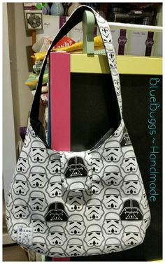 The Phoebe Bag in Star Wars style! www.Facebook.com/BlueBuggs