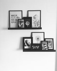 Desenio cards and posters and cards and posters, Ikea photo boards and li … - Fotowand - ENG Room Wall Decor, Bedroom Wall, Diy Bedroom Decor, Living Room Decor, Desenio Posters, Picture Shelves, Bedroom Posters, Home Office Decor, New Room