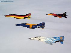 MILITARY JETS - COOL PAINT JOBS!