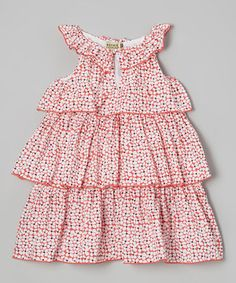 This Sophie Catalou Keifer Floral Dress - Infant, Toddler & Girls by Sophie Catalou is perfect! #zulilyfinds