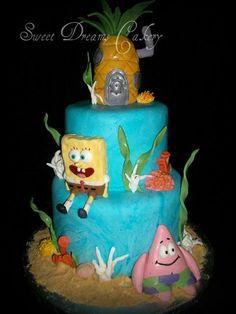 Sponge Bob cake my-cakes