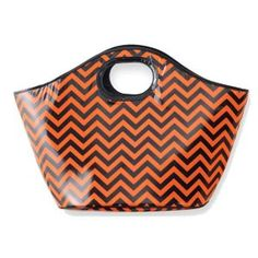 Carry a few beverages with you around the neighborhood while the kids trick or treat with this cooler tote.