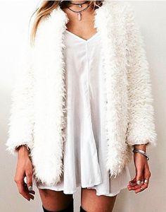 white//plush//short