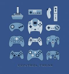 Retro Gaming #fanart #nintendo #sega #playstation