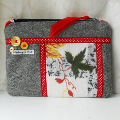 Make up bag - 50s Vintage Fabric  £9.00 by Audrey's Cat