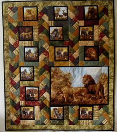 African Quilt | Heather's Fabric Shelf