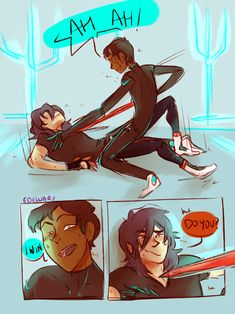Image result for voltron and percy jackson