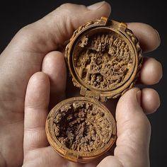 16th century Boxwood miniature.
