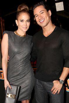 Jennifer Lopez, Mario Lopez celebrate Planet Dailies and Mixology 101 opening