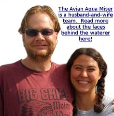 Are you an Altruist of the Avians? Then check out the Avian Aqua Miser