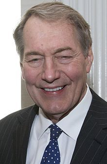 """Charles Peete """"Charlie"""" Rose, Jr. (born January 5, 1942)[1] is an American television talk show host and journalist. Since 1991, he has hosted Charlie Rose, an interview show distributed nationally by PBS since 1993."""