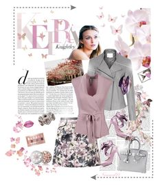 """""""Keira in spring..."""" by nannerl27forever on Polyvore featuring Erica Lyons, Guerlain, Maybelline, Reiss, Lime Crime, Zalando, Hoss Intropia, Hermès, Leona Lengyel and Liam Fahy"""