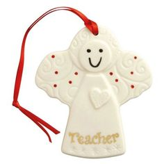 The Belleek Living Angel for Teacher Hanging Ornament features a beautiful Snowman design within a handcrafted hanging ornament. Ready to add to your Christmas Tree. Christmas Angels, Xmas, Christmas Tree, Christmas Ornaments, Christmas Decorations, Holiday Decor, Hanging Ornaments, Debenhams, Snoopy