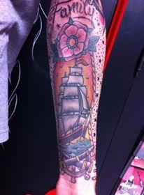 tattoo by Omar Marzioli