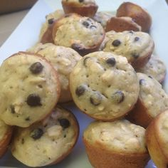 Mini oatmeal chocolate chip muffins – Drizzle Me Skinny!