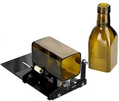 Glass Bottle Cutter, Fixm Square & Round Bottle Cutting Machine, Wine Bottles and Beer Bottles Cutter Tool with Accessories Tool Kit(Upgrade Version). However, anaglyptic bottle cutting is unacceptable. Cutting Glass Bottles, Recycled Glass Bottles, Plastic Bottles, Bottle Cutter, Glass Cutter, Metal Cutter, Bottle Art, Bottle Crafts, Bottles And Jars