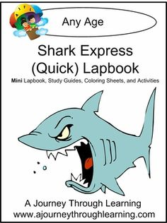 Shark Express (Quick) Lapbook 1.00! from A Journey Through Lapbooking- great site!