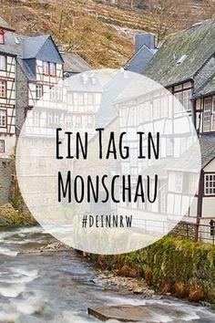 Die mittelalterliche Stadt Monschau ist zu jeder Jahreszeit eine Reise wert. Komm mit und spaziere durch verwinkelte Gassen im Luftkurort in der Eifel. #deinnrw ©️️ Dominik Ketz, Tourismus NRW