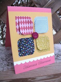 pinterest stampin up cards   Stampin' Mama: A mama that stamps: Stampin' Up Patio Party paper card