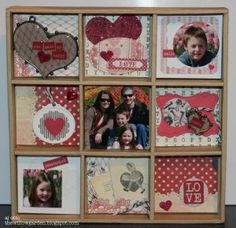 shadow box using lovely from #beauthentique, #scrapbookadhesivesby3L, & @Spellbinders