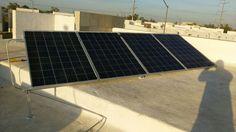 4 paneles solares marca Saya de 250w