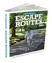 My new cycle book, lovely ideas and cute maps.