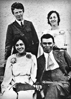 IRA commander Dan Breen, with his bride Brighid Malone, pictured on their wedding day, 12 June 1921, just a month before the truce that would bring an end to the Irish War of Independence