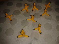 Schritt-für-Schritt-Anleitung: Fondant Figuren *Bananen*