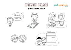 RUKUN ISLAM_anakjempolan_COLORING PAGE