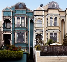 Victorians - National Register #85001914: Albert Wilford Houses in San Francisco