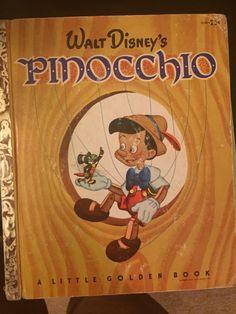 Walt Disney's Pinocchio Little Golden Book