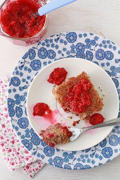 Gluten-free raspberry cake recipe | kitchen heals soul